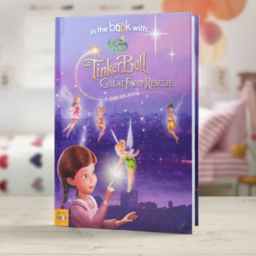 Personalised Disney Fairies Tinkerbell Book